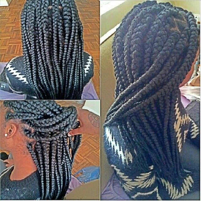 #Jumbo Braids My name is Nay and I love to do hair. i am a self-taught hairstylist currently still attending school available Monday through Saturdays i am in the dc area  partial Sew In ($50)  Quick Weaves ($40) -ALL WORK YOU SEE IN PICTURES ARE DONE BY ME . TEXT FOR PICTURES OF WEAVES DONE BY ME   All styles starts at $75-100 Done by me . DO HAIR IN HOME -JUMBO BRAIDS -MARLEY TWIST -HAVANA YARN TWIST - YARN DREADS -SILKY DREADS/DREAD EXTENSIONS (USING MARLEY HAIR)  PLEASE COME WITH HAIR…