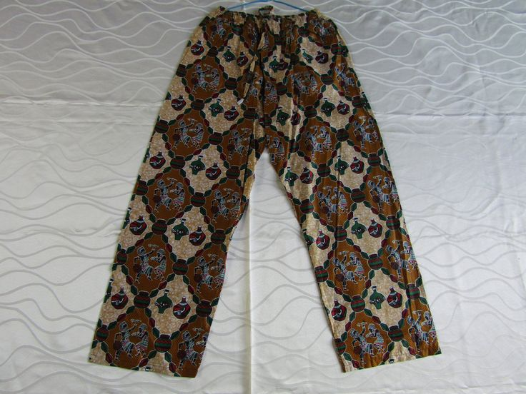 African clothing/African print pants/African clothes/African shop/African trousers/African fashion/Pants for women and men by handicraftafrica on Etsy