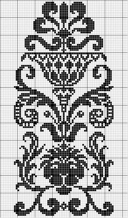 I can do this in filet crochet