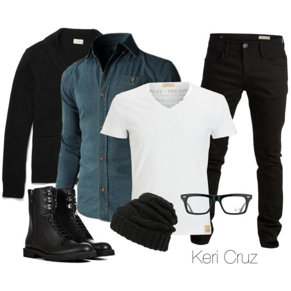 A fashion look from November 2014 featuring Leith hats and Ray-Ban eyeglasses. Browse and shop related looks.