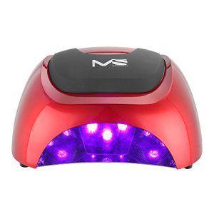 MelodySusie® Nouveau Produit Haute Qualité Violetilly 48W LED Sèche Ongles Lampe LED pour Gel LED et Vernis LED avec Minuterie de…