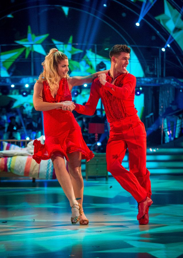 SCD week 10, 2017. Gemma Atkinson & Alijaz Skorjanec.  Samba. BBC/Guy Levy