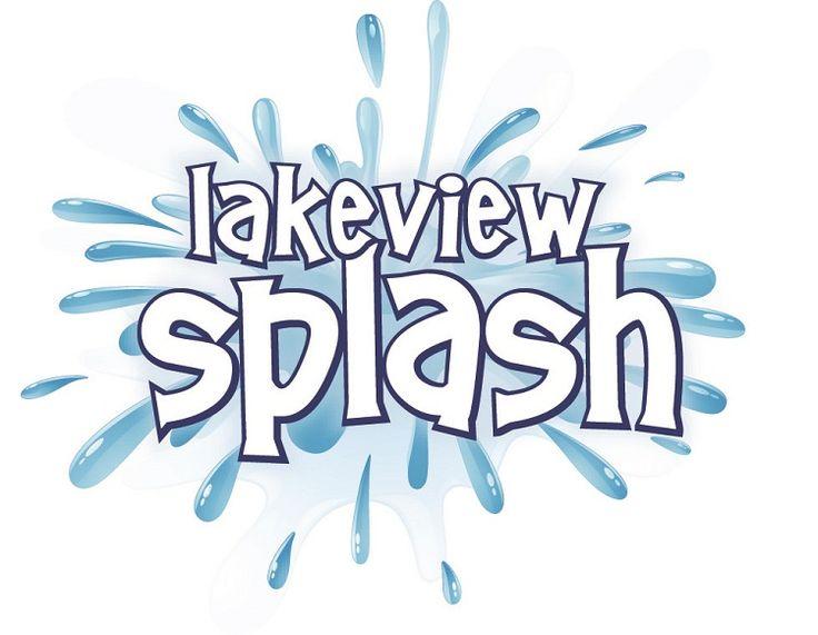 Albion Hills Lakeview Splash swimming logo