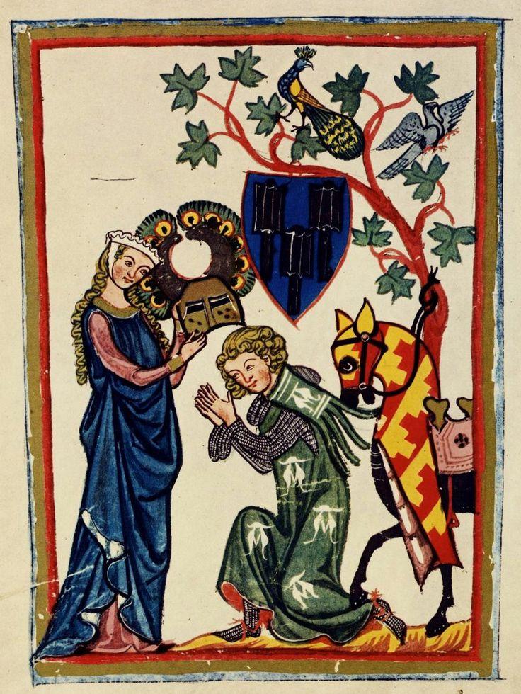 Poetas de hierro en el Codex Manesse   Iconos Medievales