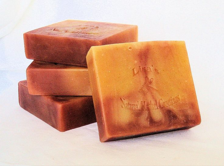 Lemongrass patchouli soap is one of the most requested soaps that I make. It is made with one hundred percent natural ingredients, right down to the colors used to color them. The scent is fairly stro
