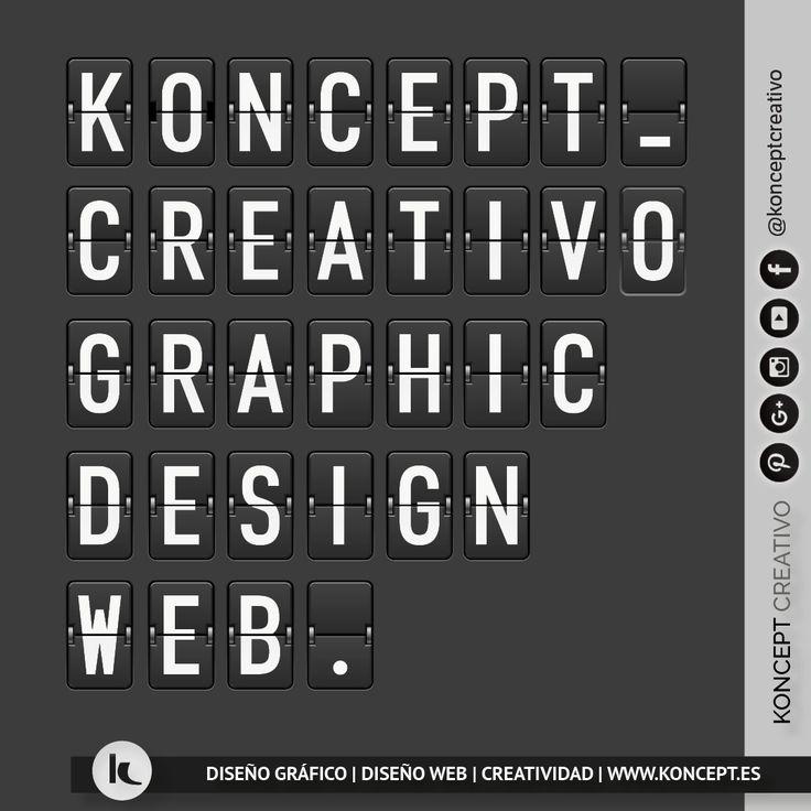 Bienvenidos a la terminal de Koncept, un espacio creativo y con mucha pasión por el diseño. Un lugar, un momento, un concepto creativo ¡locazos del diseño! Diseñamos, maquetamos, damos forma a tus proyectos... Esperamos que este vuelo por la nube os sea reconfortante y volváis muy pronto ¡Os estamos esperando! En Koncept Creativo, nos gusta, nos apasiona, nos vuelve locos el diseño y la creatividad. #diseñografico #diseñoweb #konceptcreativo #barcelona #creatividad #pasion #ideas