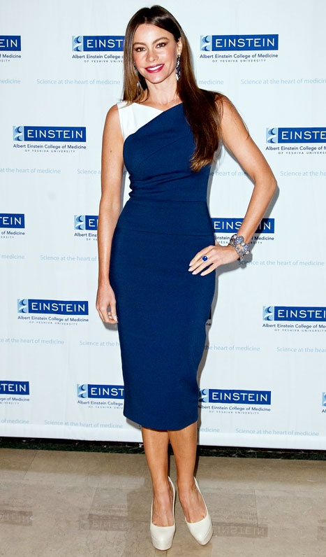 Sofia Vergara at Einstein's Annual Spirit of Achievement Awards, a fundraiser to support cancer research.