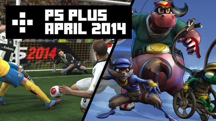 Mat, Olly and Rich review the latest releases on PS Plus for April 2014. The games include Pro Evolution Soccer 2014, Sly Cooper: Thieves in Time, Mercenary Kings, Hotline Miami and MotoGP13. https://www.youtube.com/watch?v=ScVJ0ZusBM8&list=UUD-vKobNupOy05QDuVmBznA