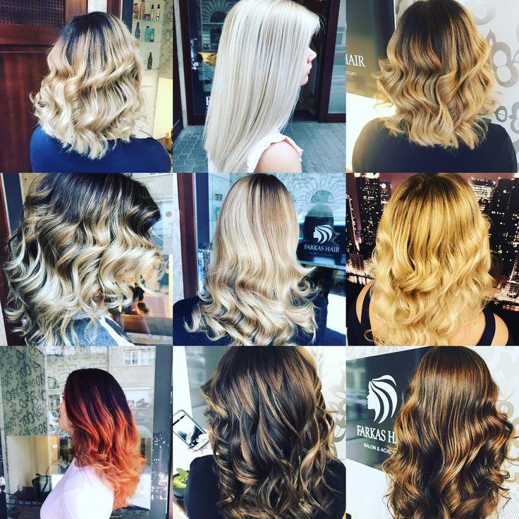 Bayalage hair Longhair Hosszúhaj