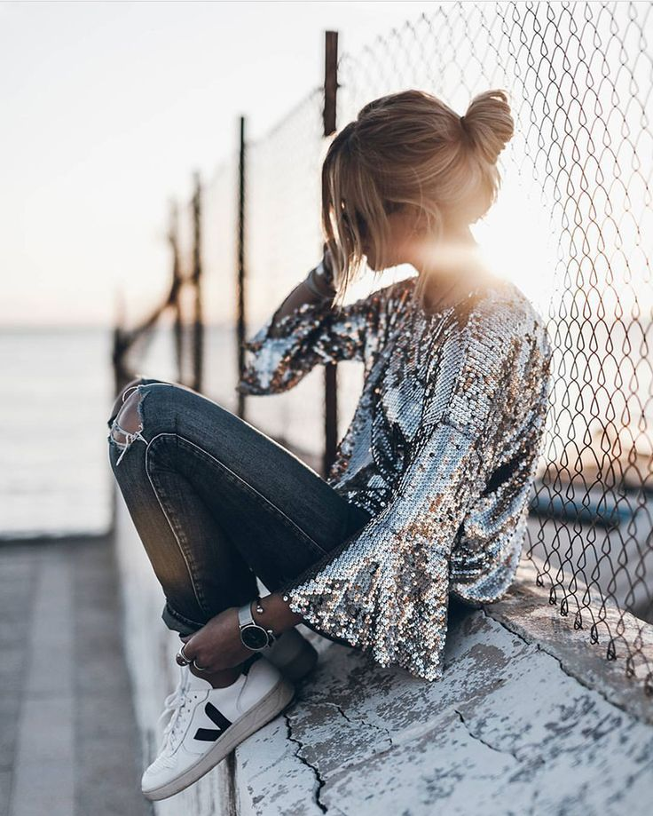 Fashion - Street Style | Style Inspiration: Day Sequins for Winter into Spring -