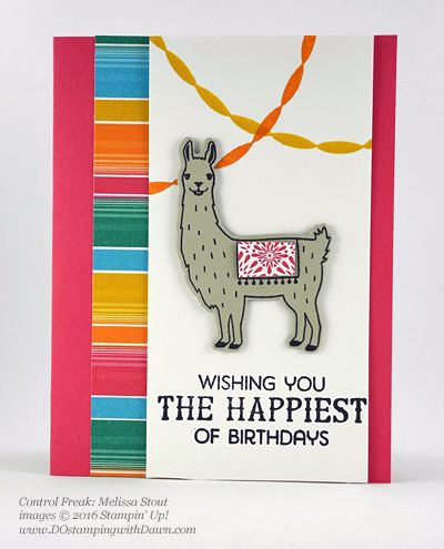 Birthday Fiesta Bundle swap cards shared by Dawn Olchefske #dostamping #stampinup (Melissa Stout)