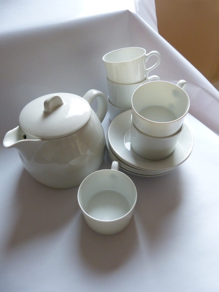 Cute tea-set by Arabia Finland