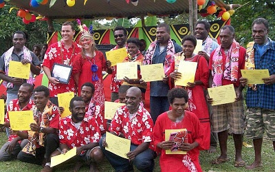 Ten years of waiting are over! The Daily Post newspaper in Port Vila, Vanuatu applauds the completion of the South West Tanna New Testament, June 9, 2012.