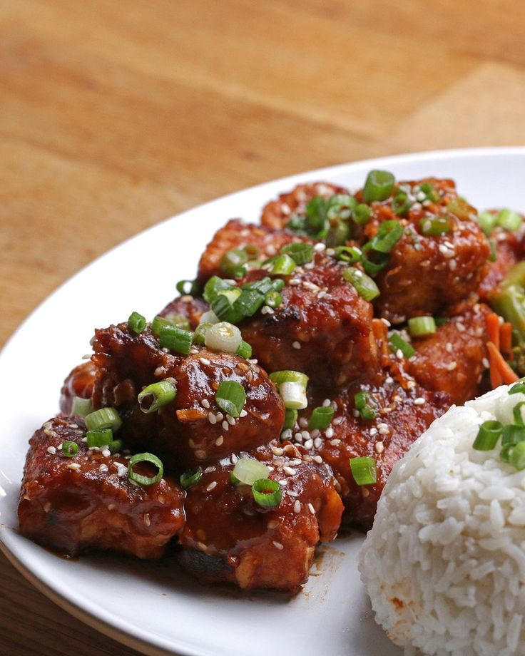 General Tso's Tempeh Recipe by Tasty