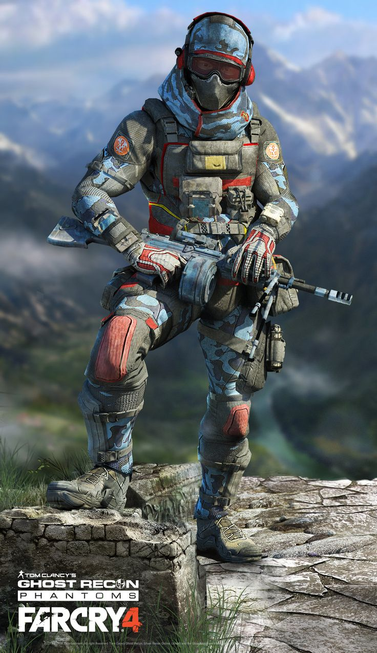 39 best Tom Clancy Ghost images on Pinterest