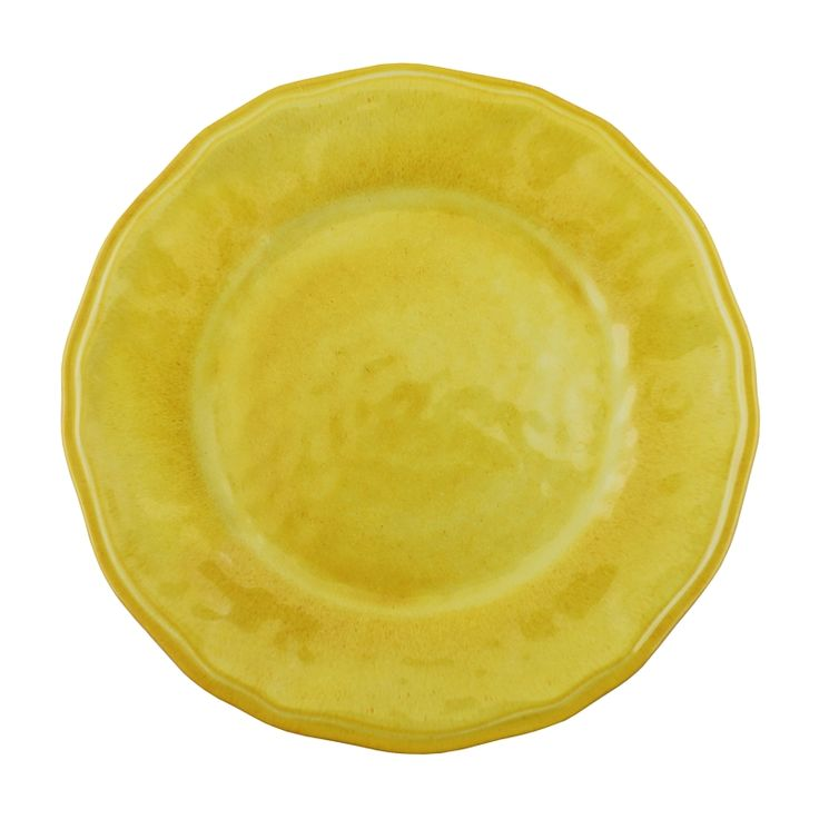 Superbe Le Cadeaux Melamine Collections #12: Le Cadeaux Campania Yellow Dinner Plate Triple Weight Melamine, The Finest  Collection Of Melamine Tableware For Indoor And Outdoor Living.