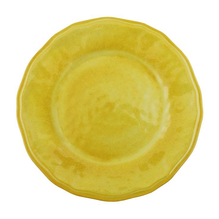 8 x Le Cadeaux Campania Yellow - 3 Piece Place Settings - 24 Pieces