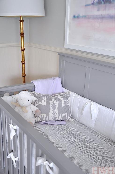Best 20 gray crib ideas on pinterest beige baby for Sherwin williams lavender gray