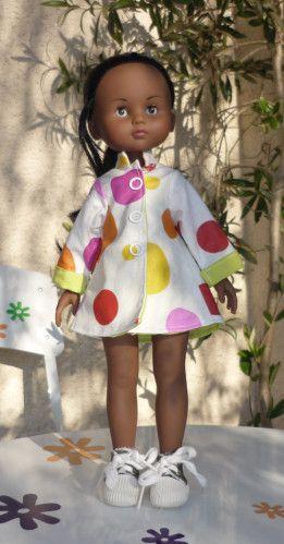 Robe rétro et petit imper... toujours pour les chéries - Le blog des bricoletteuses