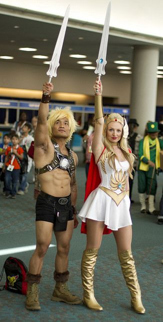 He-man and She-ra | by San Diego Shooter