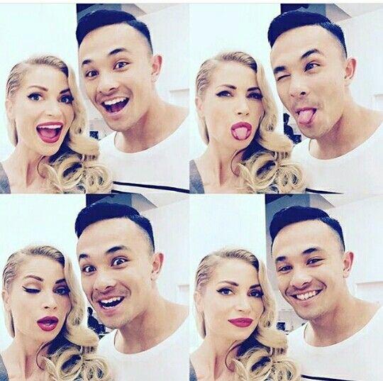 Xfactor Australia Natalie Conway and Cyrus