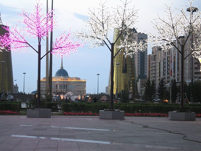 The Presidential Palace in Astana, Kazakhstan