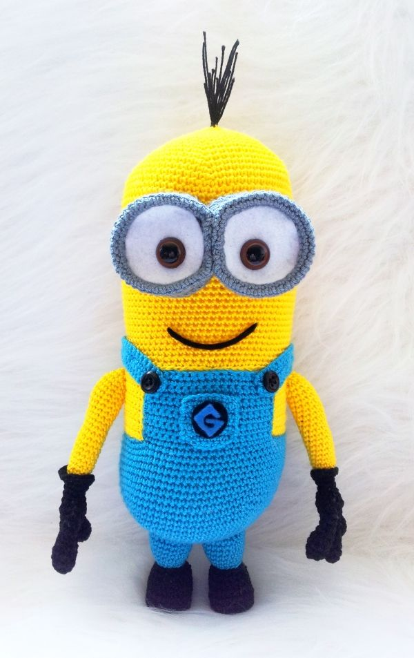 Crochet Minion amigurumi Despicable Me 2 Pattern Crochet ...