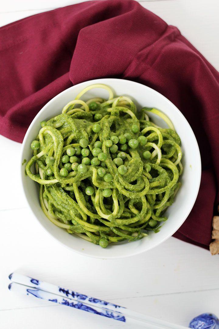 how to cook spiralized zucchini spaghetti