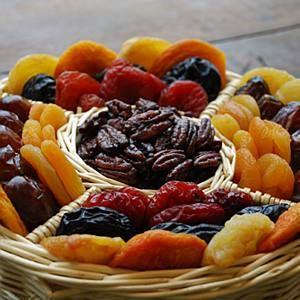 Сколько калорий в сухофруктах? Таблица калорийности сушёных фруктов, на 100 грамм продукта.