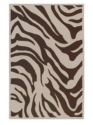 -35,500% OFF Surya Goa Animal Rug, Cream/Chocolate, 5' x 8'