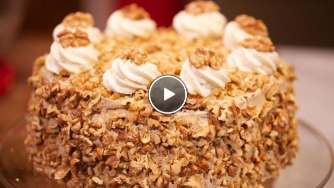 Walnoot-koffietaart - Rudolph's Bakery   24Kitchen