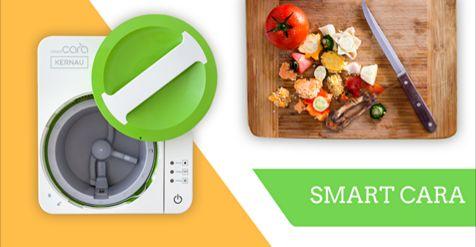 Nowość w ofercie #KERNAU! Smart Cara to łatwy i ekologiczny sposób na pozbycie się problemu nagromadzenia odpadów organicznych. Dzięki efektywnemu systemowi mielenia i suszenia redukuję masę odpadów nawet o 90%. Powstała substancja może zostać ponownie wykorzystana, np. jako naturalny nawóz.