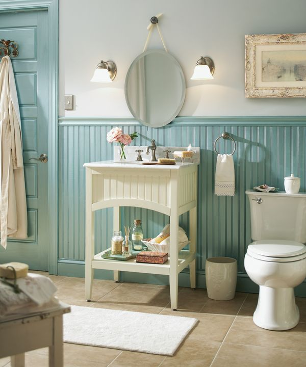 Best 25 Wainscoting Bathroom Ideas On Pinterest White Bathroom Paint Bathroom Paint Colours