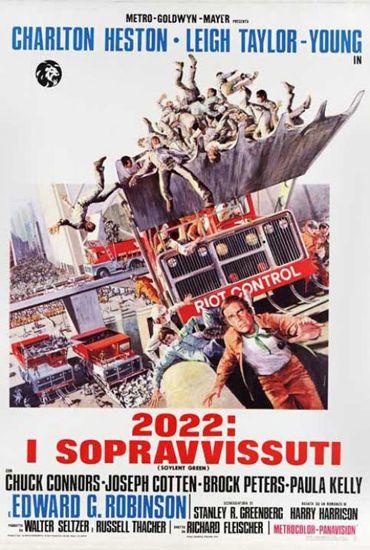 2022: I sopravvissuti. Il famoso film in cui appare l'ottimo Soylent Green.
