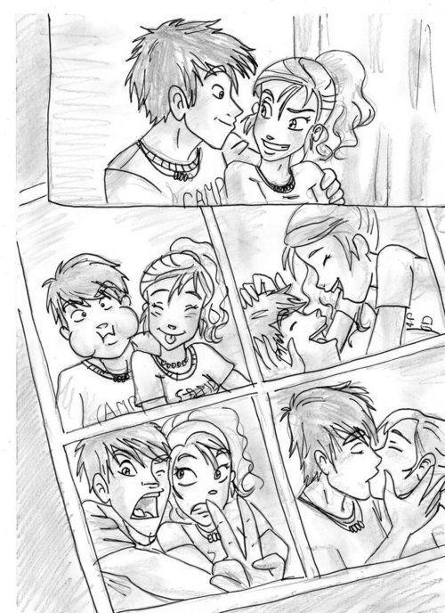 Percy and Annabeth!!! <3