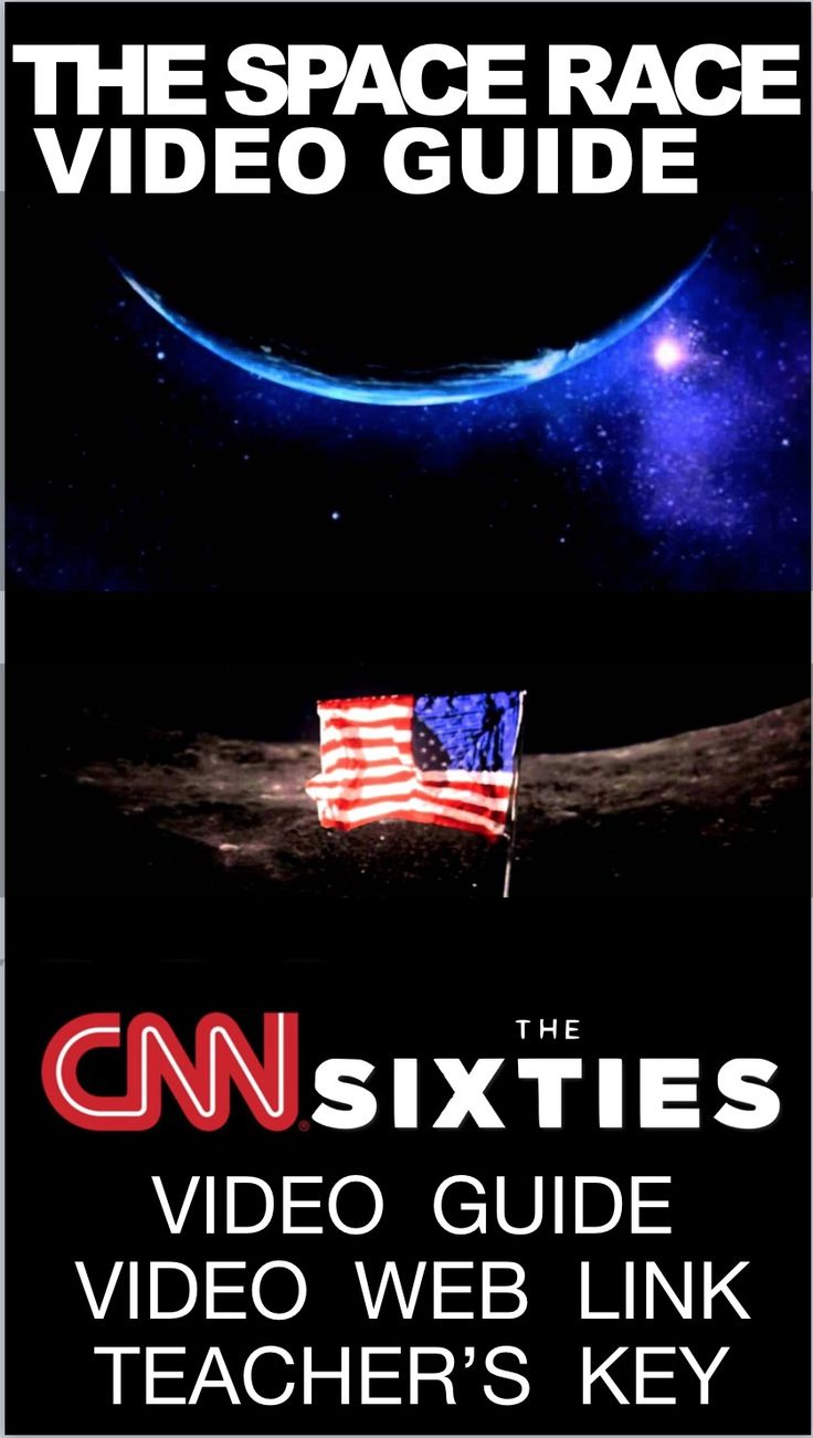 Space Race from CNN's The Sixties Video Link & Video Guide documentary covers the challenges of the U.S. space program in the 1960s, beginning with President John F. Kennedy's speech in 1962. Video documents the U.S. response to the Soviet Union's space program and its final victory to the moon. Also included is a weblink to the excellent and fast paced online video. An answer key is provided. Worksheet has 20 questions covering the 41 minute video.