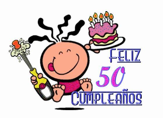 Las 25 mejores ideas sobre feliz 50 cumplea os en - Cumpleanos 50 anos hombre ...