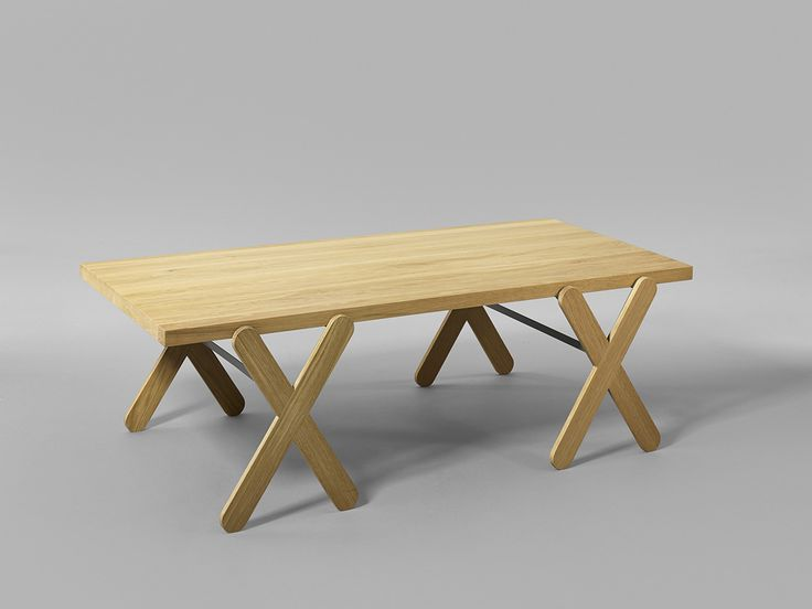Minus tio - Scount table and bench series in solid birch or oak images