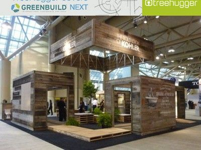 Best Of Show Booth Design At Greenbuild Kohler And Living Machine