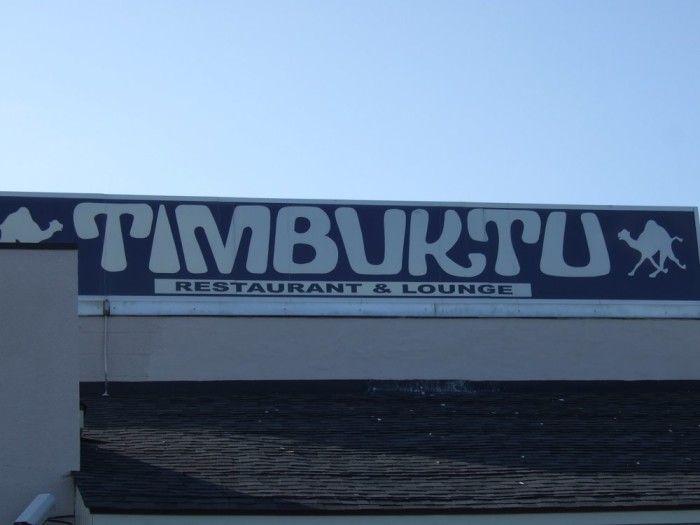 2) Timbuktu Restaurant, Hanover