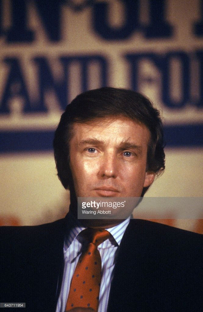 Rare & Never Before Seen Images of Donald Trump from 1988-92......NEVER SAW HIM WITH DARK HAIR BEFORE...............ccp