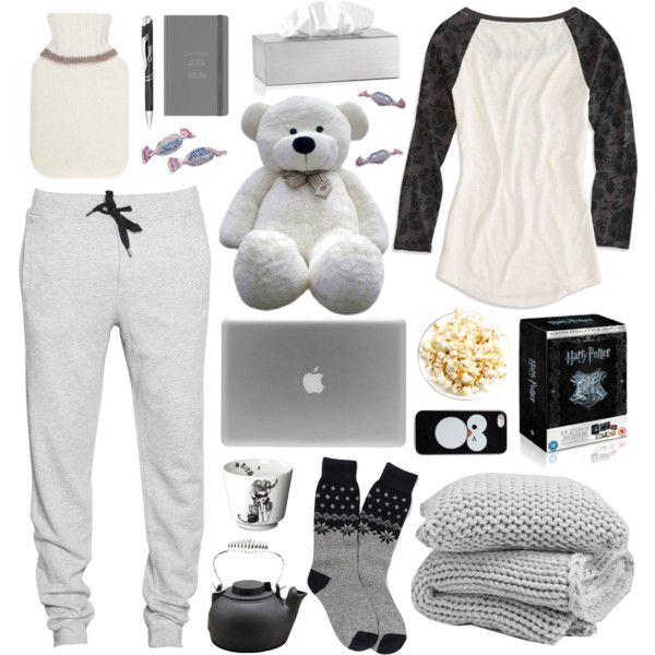 """comfy cozy, winter morning... or soothing """"Sick Day"""" by emmy on Polyvore"""