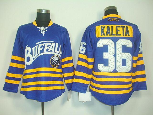 23ff86648 ... Buffalo Sabres 36 Patrick KALETA Third Jersey Patrick Kaleta Light Blue  ...