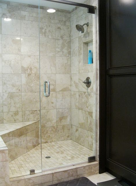 master bath shower simple travertine bench and built ins