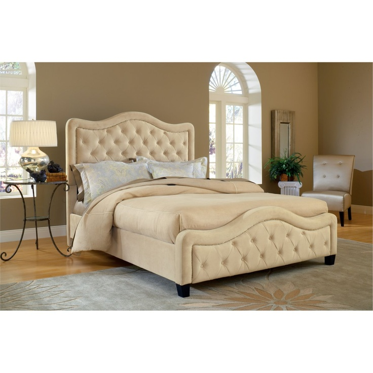 Trieste Upholstered Bed - Buckwheat