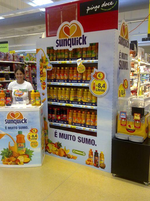 Muitos parabéns à Jerónimo Martins DPC pela produção deste topo da Sunquick, e assim venceu o Índio de Bronze, na categoria de topos de bebidas, nos POPAI Portugal Awards de 2014!