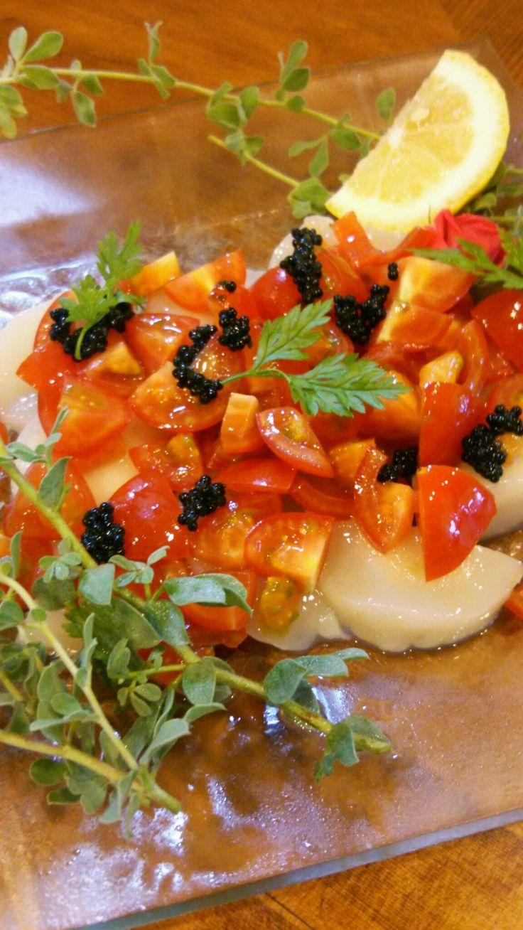 cucinA D: 鮮魚のカルパッチョ&ワンドリンク