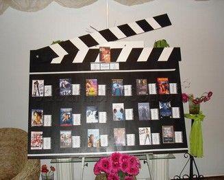 mariage theme cinéma- idees originale pour mariage theme cinema- faire part mar…