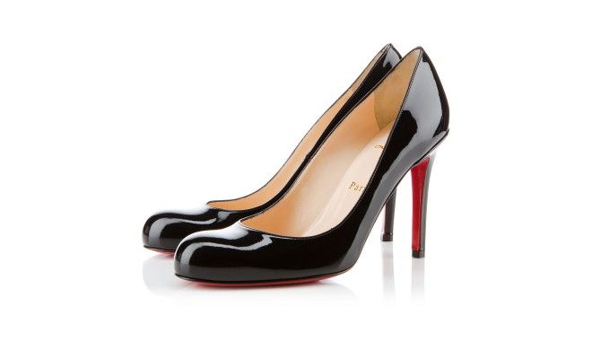 So classic. The simple beauty of Christian Louboutin doesn't need any more of a description than that.