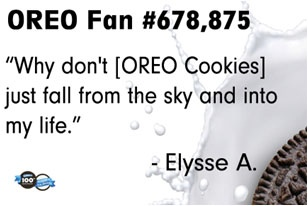 Mother Nature just hasn't hit up the store yet! #oreomoment